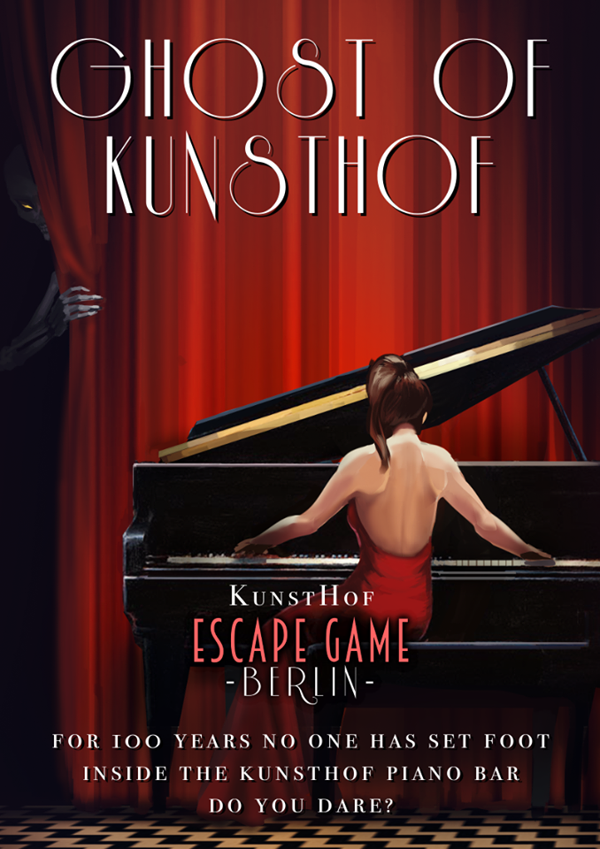 Plakat Ghost of Kunsthof - Escape Game Berlin