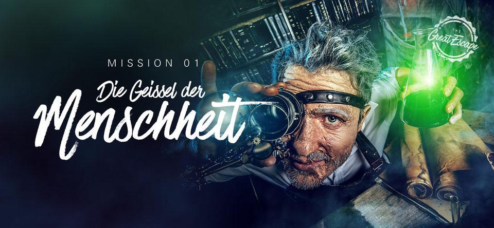 The Great Escpae Köln - Die Geisel der Menschheit