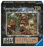 Ravensburger EXIT Puzzle 19952 - Hexenküche - 759 Teile Puzzle für Erwachsene und Kinder ab 12 Jahren