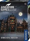 KOSMOS 693190 Adventure Games - Grand Hotel Abaddon. Entdeckt die Story, Kooperatives Gesellschaftsspiel für 1 bis 4 Spieler ab 12 Jahre, spannendes Abenteuer-Spiel