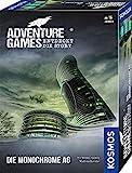 Kosmos 695132 - Adventure Games - Die Monochrome AG. Entdeckt die Story, Kooperatives Gesellschaftsspiel, für 1 bis 4 Spieler, ab 16 Jahre, spannendes Abenteuer-Spiel