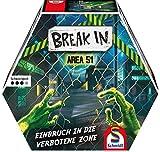 Schmidt Spiele 49380 Break In, Area 51, Rätselspiel, Actionspiel