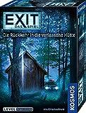 KOSMOS 680503 EXIT- Das Spiel - Die Rückkehr in die verlassene Hütte, Level: Fortgeschrittene, Escape Room Spiel, für 1 bis 4 Spieler ab 12 Jahre, einmaliges Event-Spiel, spannendes Gesellschaftsspiel