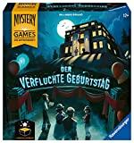 Ravensburger Familienspiel – 26948 Mystery Games: Der verfluchte Geburtstag – kooperatives Geschichten-Mystery-Spiel für 2-4 Spieler ab 12 Jahren