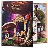 iDventure EIN Zaubermittel für Alice - Interaktive Schnitzeljagd + Buch für Kindergeburtstag und Kinderparty