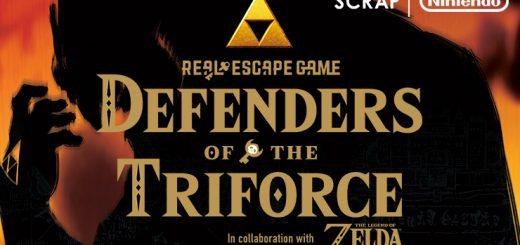 Scrap Zelda Live Escape Game - Defenders of the Triforce