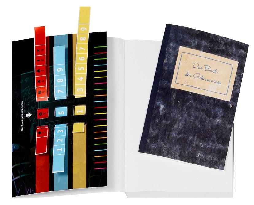 Exit - Das Buch - Der Keller der Geheimnisse Spielmaterial