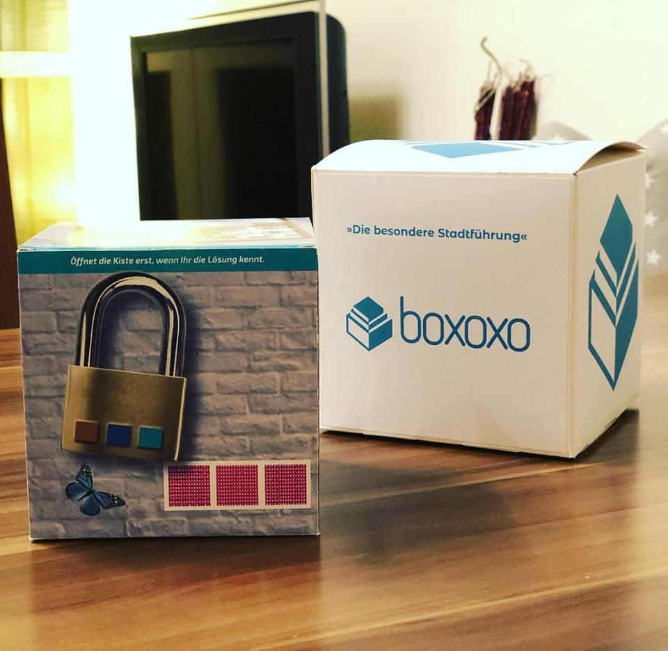 Boxoxo - Prototyp (Material nicht final)